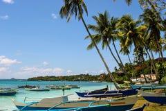 Tropical sea shore stock photography
