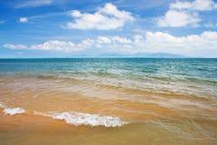 Tropical sea and sky Royalty Free Stock Photos