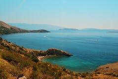 Tropical sea. Tropical summer blue sea landscape Stock Images