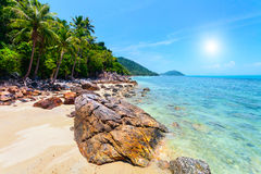 Tropical sea in Thailand Stock Photos