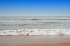 Tropical sea in Thailand. Sand and waves Stock Image