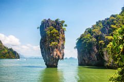 Tropic sea view. Tropical sea view,,Thailand phang nga shore line, sand royalty free stock images