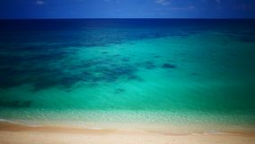 Tropical sea view in UHD stock footage