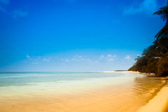 Tropical sea water Royalty Free Stock Photos