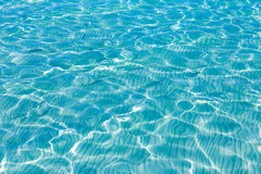 Tropical sea water texture reflections summer paradise Stock Photography