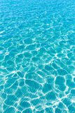 Tropical sea water texture reflections summer paradise Royalty Free Stock Images