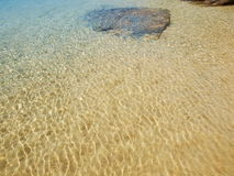 Tropical sea water texture Stock Photography