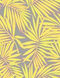 Tropical seamless pattern with leaves. vector illustration