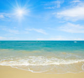 Tropical seascape Royalty Free Stock Photos