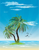 Tropical seascape  Stock Images