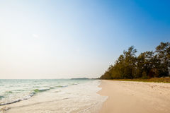 Tropical seascape in Sihanoukville Royalty Free Stock Photo