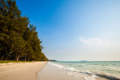Tropical seascape in Sihanoukville Royalty Free Stock Photography