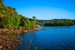 Tropical seashore Royalty Free Stock Photography