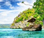 Tropical seashore Royalty Free Stock Photo