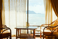 Tropical Seaview Stock Image