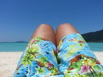 Tropical shorts Stock Photo