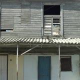Tropical Slum Stock Photography