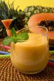 Tropical smoothie royalty free stock photos
