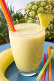 Tropical smoothie Stock Photo