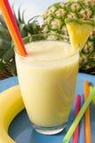 Tropical smoothie stock photo