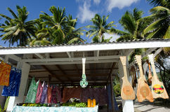 Tropical Souvenir Shop Stock Images