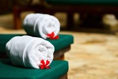 Tropical spa Royalty Free Stock Photo