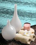Tropical spa regeling Royalty-vrije Stock Fotografie