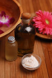 Tropical Spa Treatments. Spa treatments in the tropics royalty free stock photography