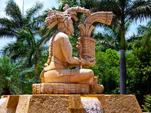 Tropical Statue Royalty Free Stock Image