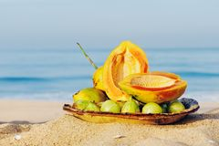 Tropical Still-Life Royalty Free Stock Photo
