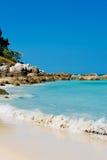 Tropical stones beach. Thailand Stock Photos