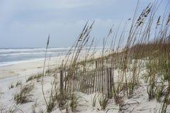 Tropical Storm Approaches Florida Beach stock photos