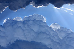 Tropical Storm Clouds - Thunder Clouds Stock Images