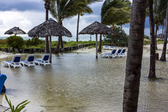 Tropical storm Royalty Free Stock Photography