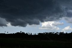 Tropical Storm Royalty Free Stock Photos