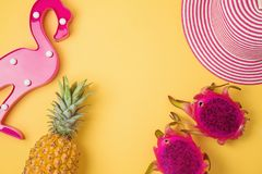 Tropical summer background Stock Photo