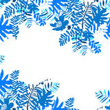 Tropical summer card design Royalty Free Stock Photography