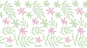 Tropical summer concept floral seamless pattern. Stock Photos