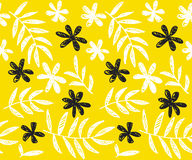 Tropical summer concept floral seamless pattern. Royalty Free Stock Photography