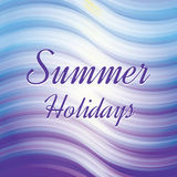 Tropical Summer holiday vector background. Royalty Free Stock Photography