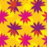 Tropical summer pineapple palm leaf pattern vector illustration