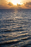 Tropical sun rise Royalty Free Stock Photos