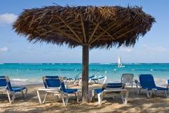Tropical Sun Shade Royalty Free Stock Image