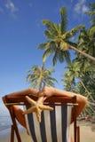 Tropical Sunbathing Royalty Free Stock Photo