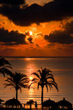 Tropical summer sunrise Stock Photography