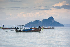 Tropical Sunset. A beautiful blue sunset. Asia, Thailand, Kho Phi Phi Royalty Free Stock Images