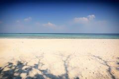 Tropical sunset on the beach. Krabi Royalty Free Stock Photos