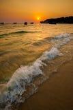 Tropical sunset in Sihanoukville Stock Photo