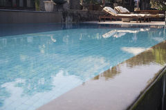 Tropical swimmingpool Royalty Free Stock Photo