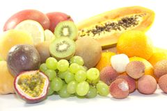 Tropical tasty fruits Stock Image